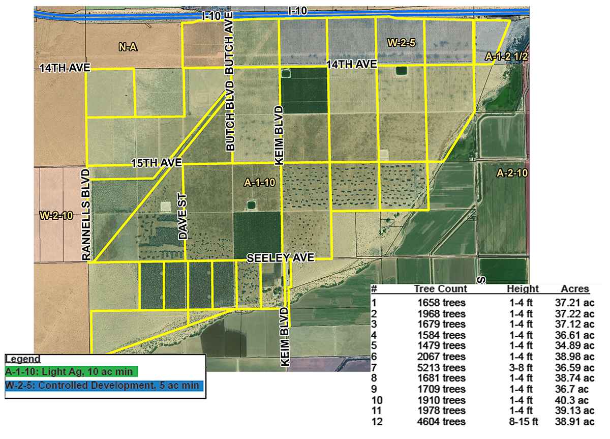 1483 Acres Dates Farmground Valencia Ranch Blythe