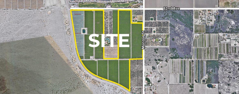 200 AC 62nd Ave Monroe St VSR Aerial Map